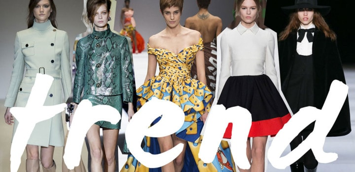 Trend moda autunno/inverno 2014-2015