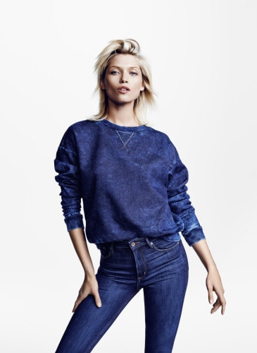 h&m conscious collection denim jeans prezzi e catalogo