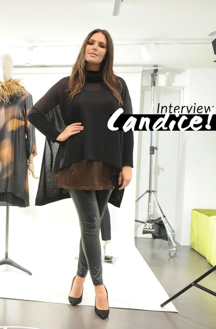 Intervista a Candice Huffine madrina del lancio di Curvitaly