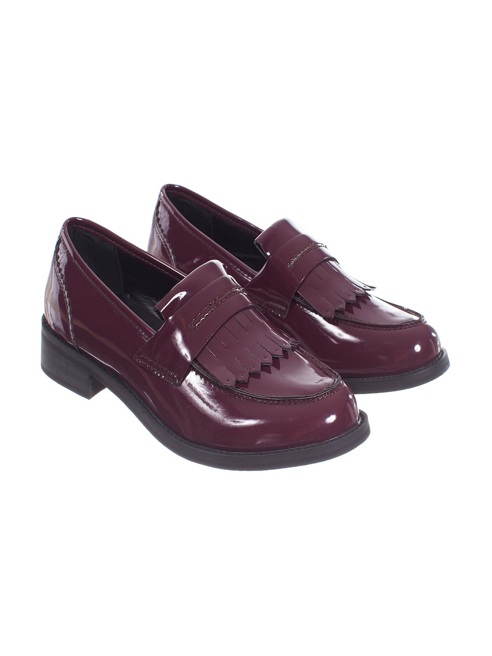 trend scarpe autunno 2014 mocassini con frange motivi