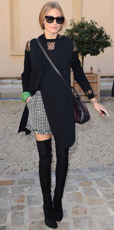 stivali sopra il ginocchio over the knee boots fashion blogger