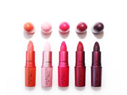 giambattista valli per mac rossetti makeup