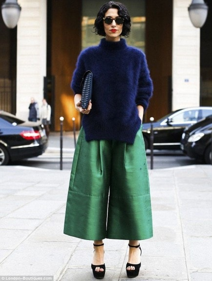 Trend moda 2015: gonna pantalone o culottes pants