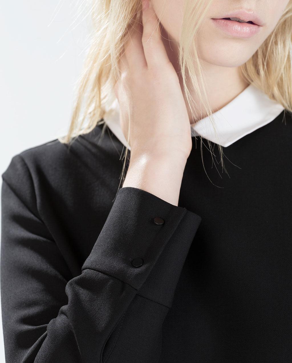 Shopping guide: abito nero con colletto bianco, dove comprarlo