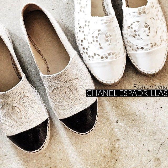 Espadrillas Chanel, prezzi, colori e modelli 2014
