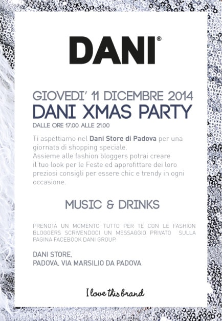 Dani Group Padova Natale 2014 fashion blogger elena schiavon