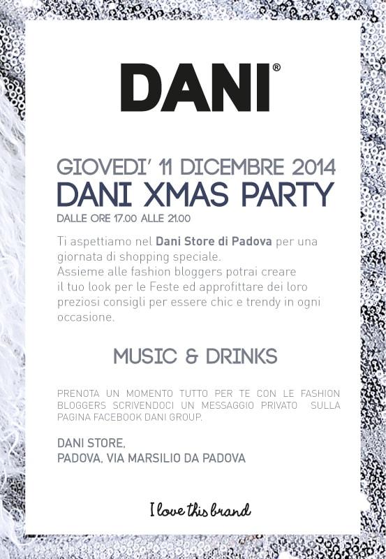 Dani XMas, trova il tuo look natalizio con me giovedì 11 dicembre