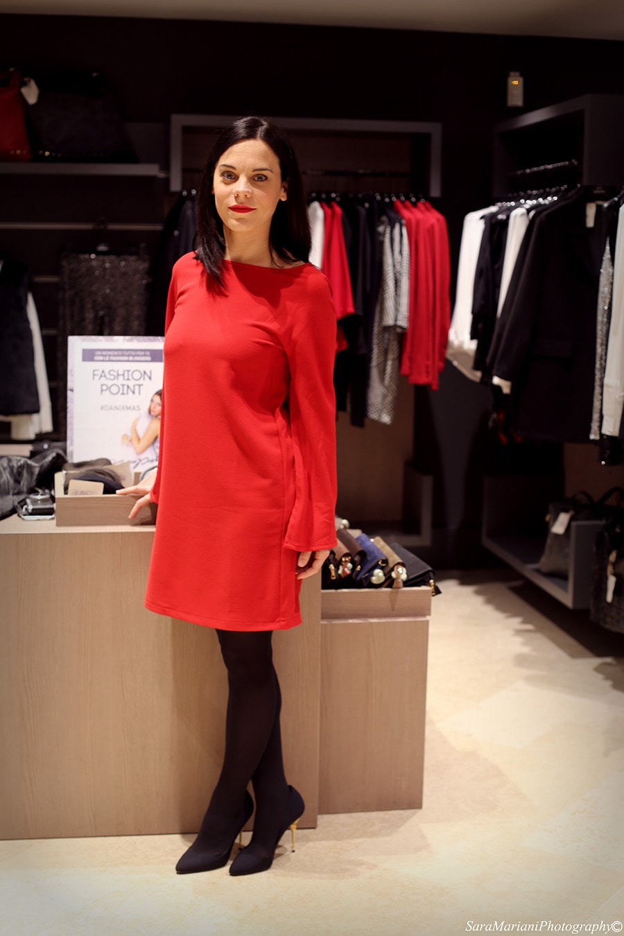 elena schiavon fashion blogger Dani Group Padova look Natale 2014 low cost