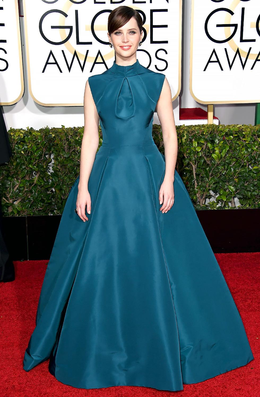Felicity Jones in Dior Couture