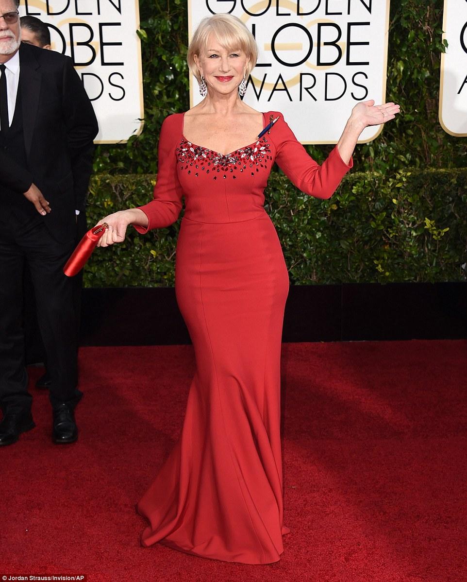 Helen Mirren in Dolce e Gabbana