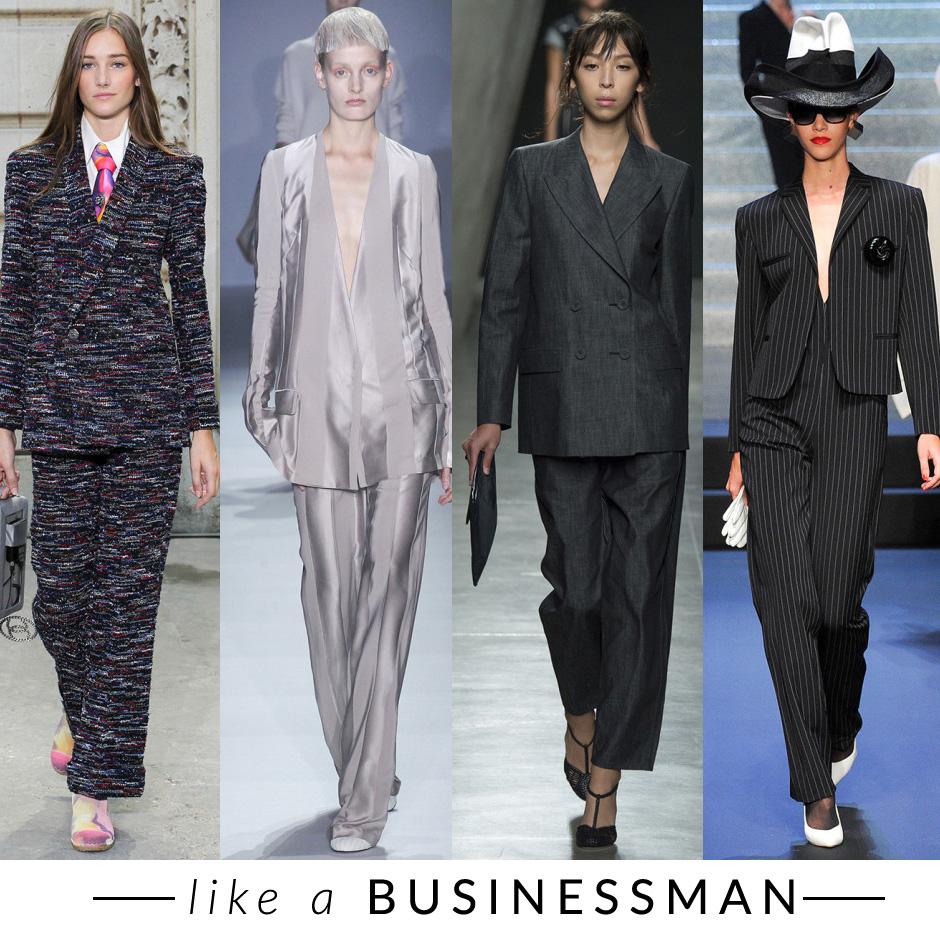 tailleur maschile trend moda primavera estate 2015 fashion blogger elena schiavon