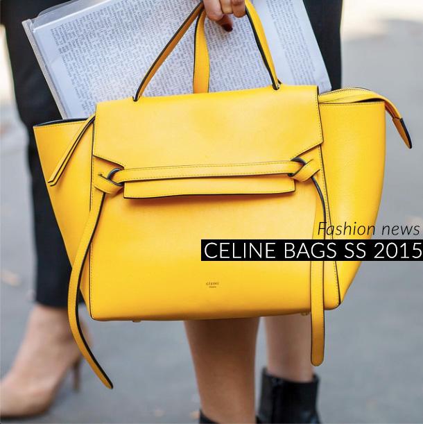 Céline borse primavera/estate 2015, foto e prezzi
