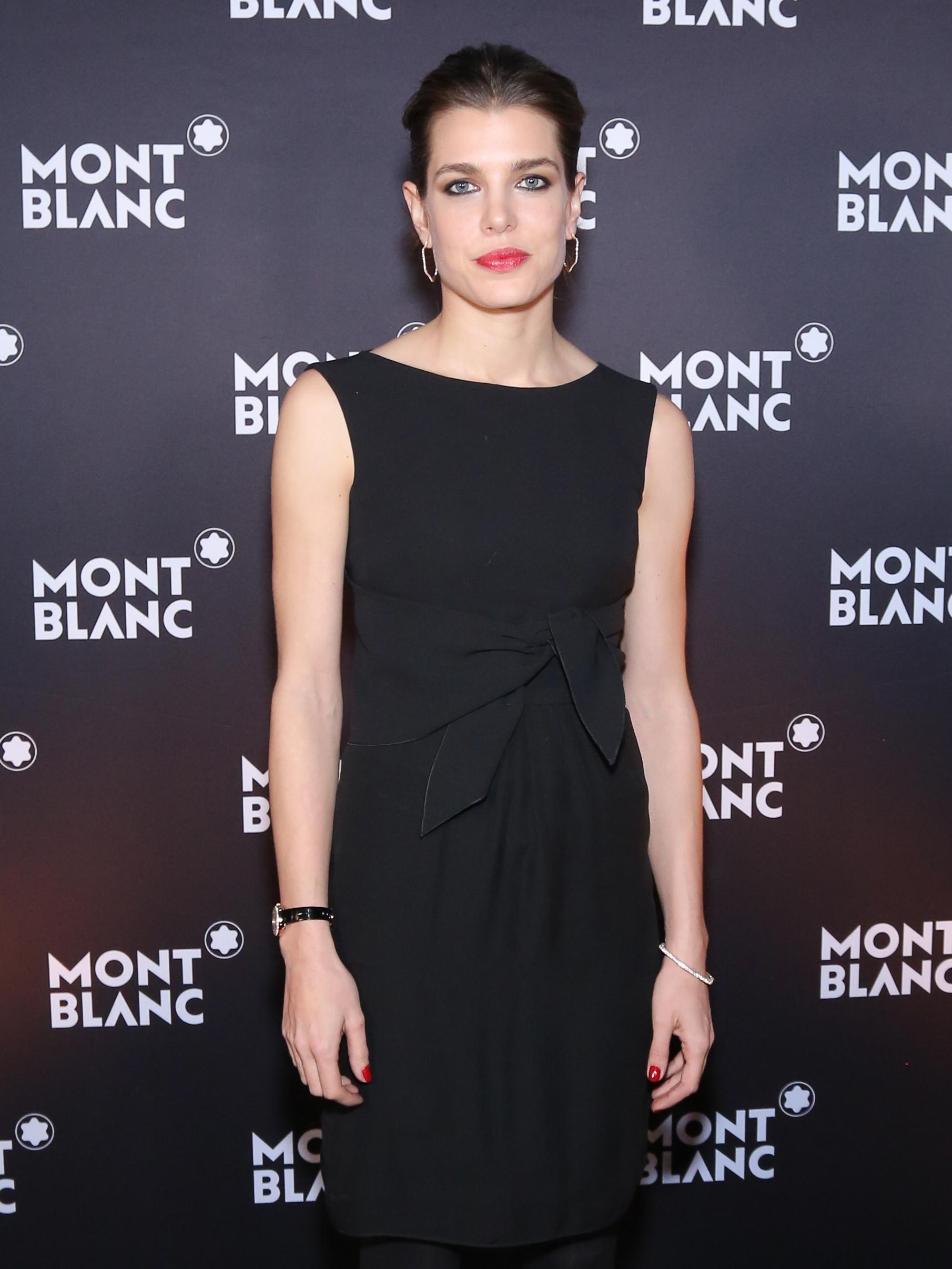 Charlotte Casiraghi ambasciatrice Montblanc