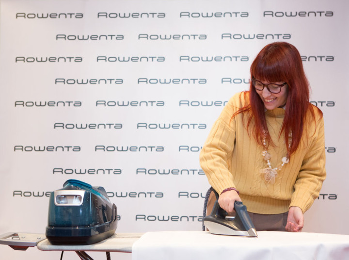 Rowenta Under Pressure, l'evento a Zurigo, la potenza del vapore e l'indoor skydiving