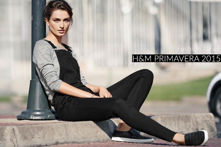 H&M, la primavera/estate 2015 punta sui trend e su bianco, denim e lavanda