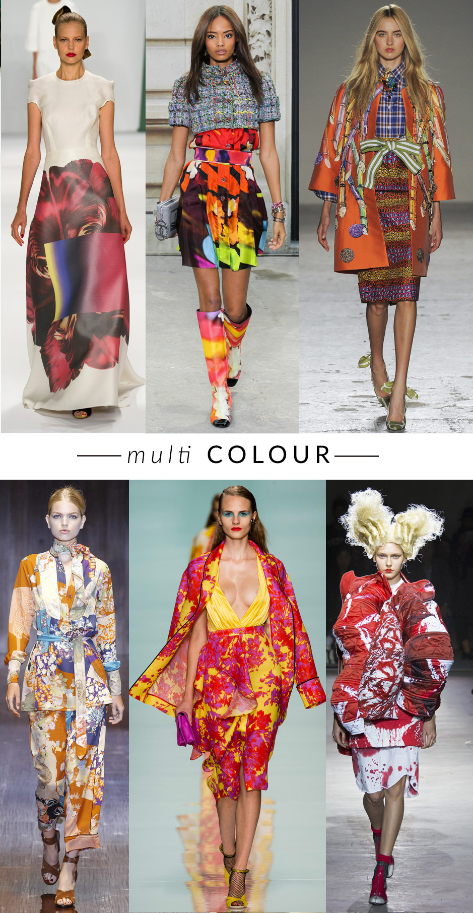 MULTICOLOR-STAMPEcolour-blocking trend moda primavera estate 2015 fashion blogger elena schiavon