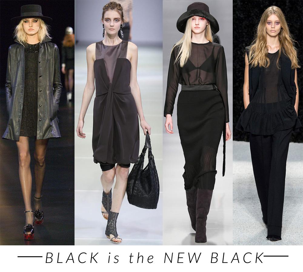 NERO trend moda primavera estate 2015 fashion blogger elena schiavon