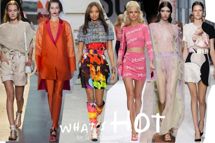 Trend moda primavera/estate 2015