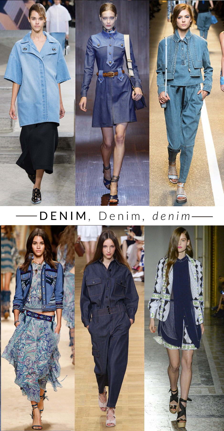 denim trend moda primavera estate 2015 fashion blogger elena schiavon