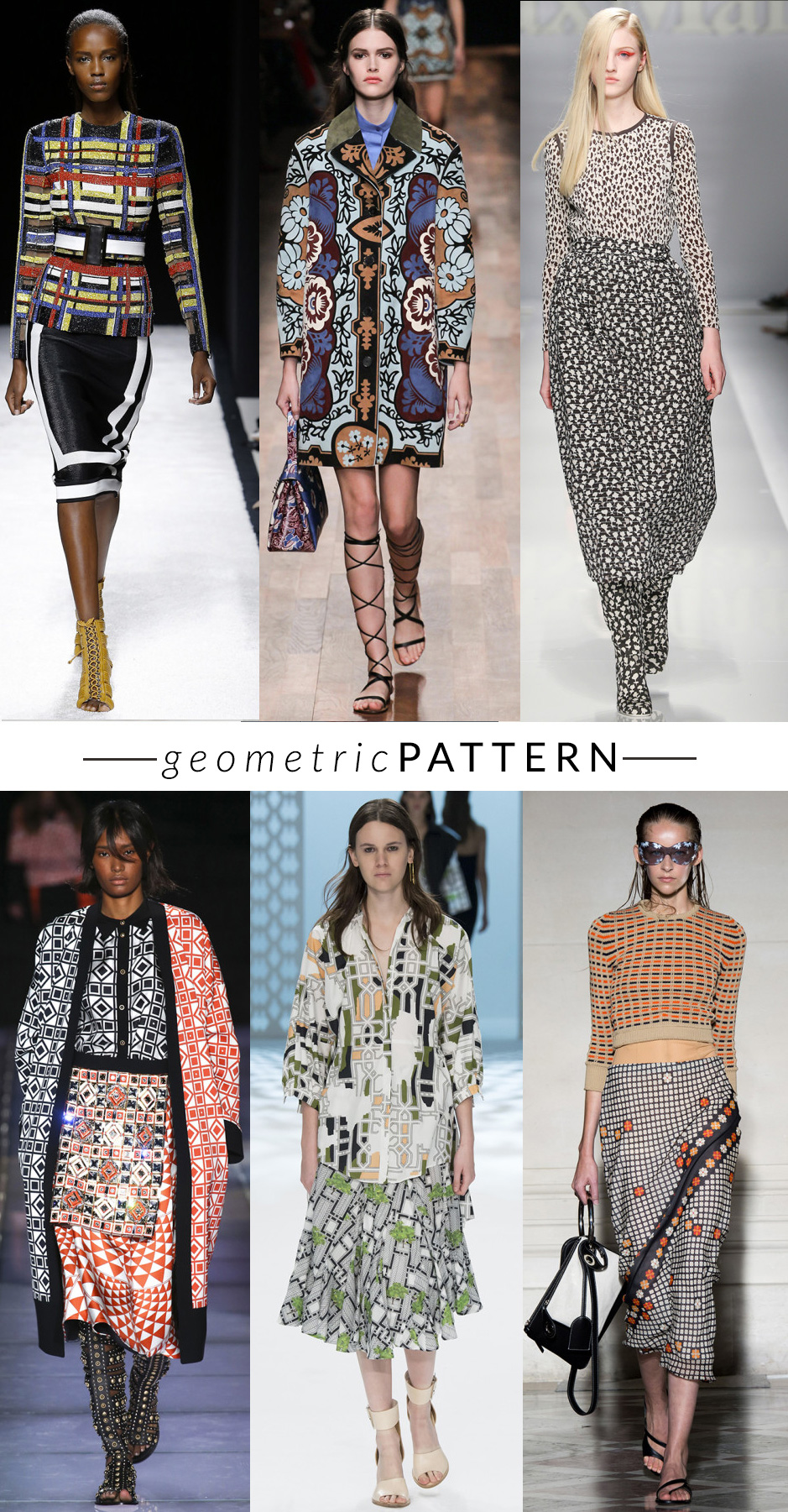 geomtric-pattern MULTICOLOR-STAMPE  trend moda primavera estate 2015 fashion blogger elena schiavon