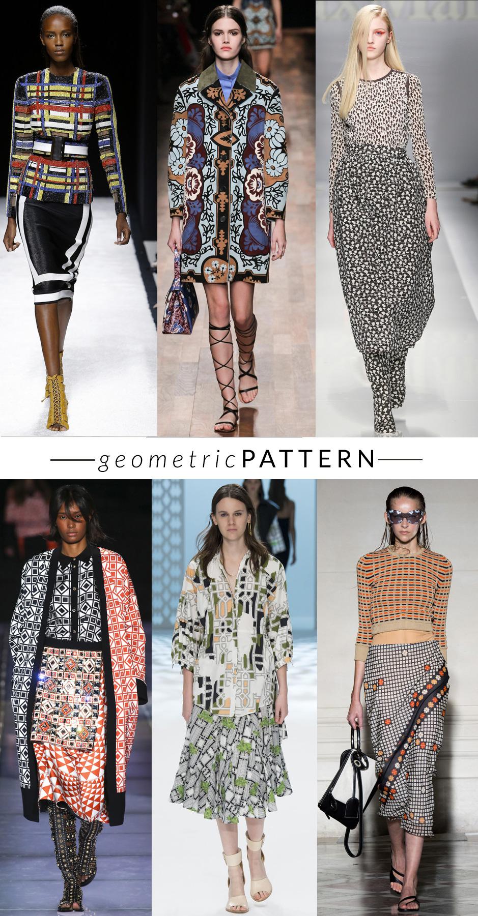 geomtric-pattern MULTICOLOR-STAMPE  trend moda primavera estate 2015 fashion blogger elena schiavon