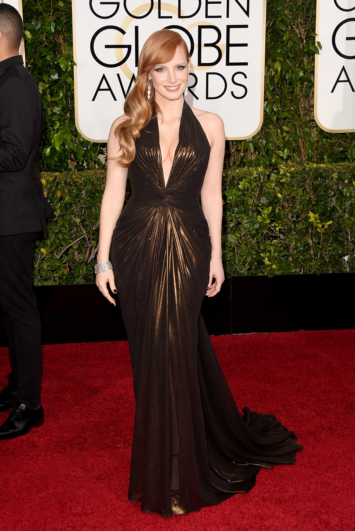 Jessica Chastain In Atelier Versace
