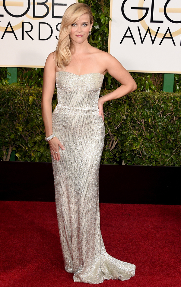 Reese Witherspoon In Calvin Klein Collection
