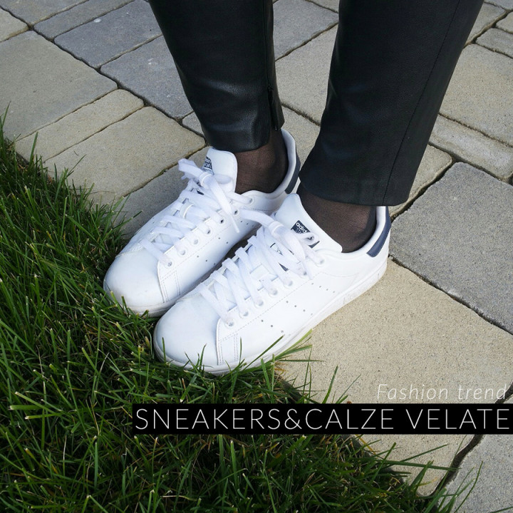 Trend sneakers e calze velate: sì o no?