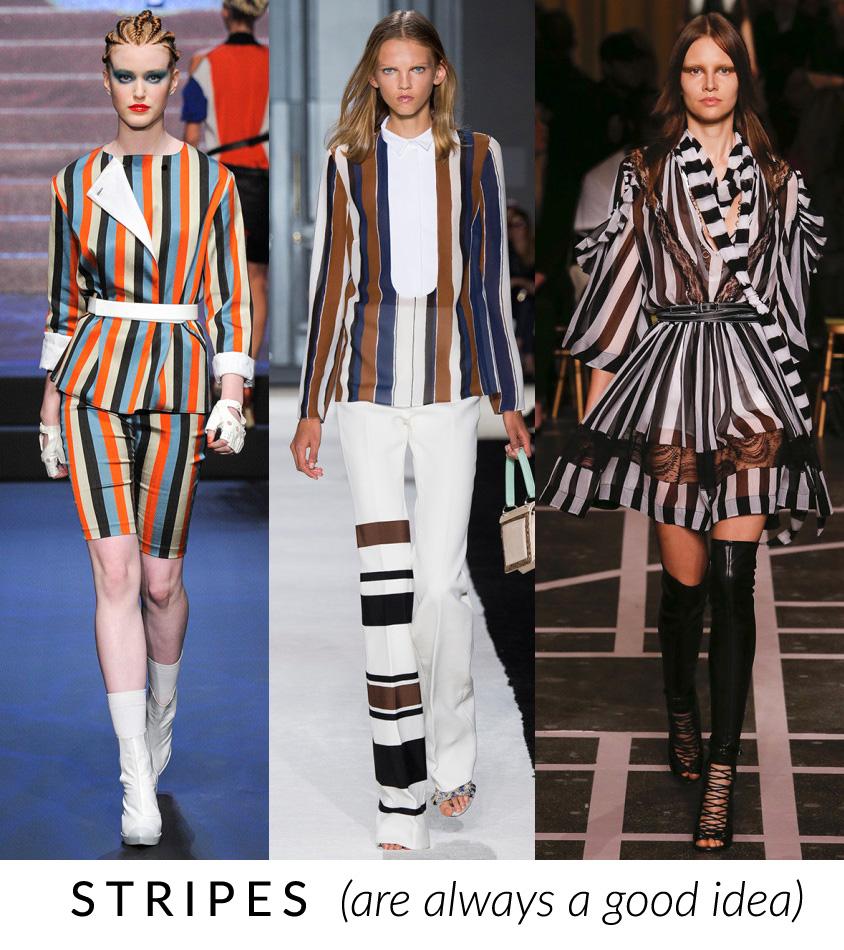righe trend moda primavera estate 2015 fashion blogger elena schiavon