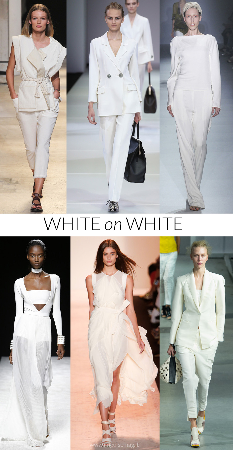 white trend moda primavera estate 2015 fashion blogger elena schiavon