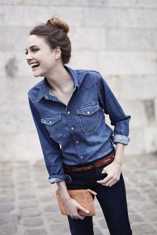 Come indossare un total look denim