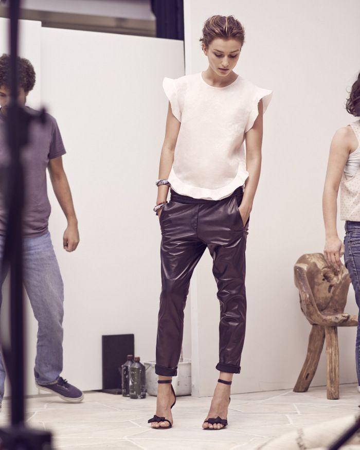 Pantaloni pelle 1