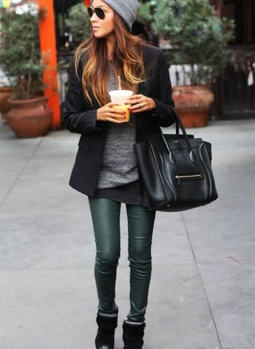 Pantaloni pelle 14