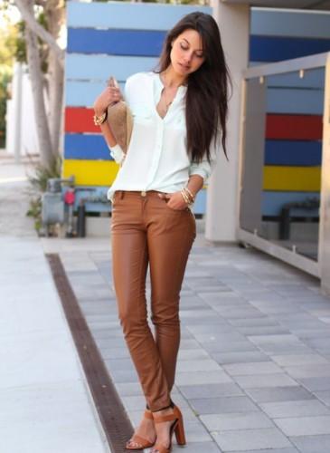 Pantaloni pelle 17