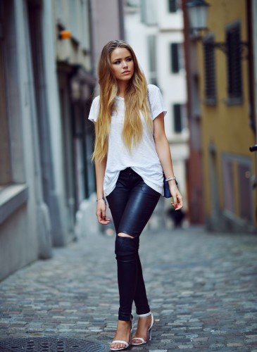Pantaloni pelle 19