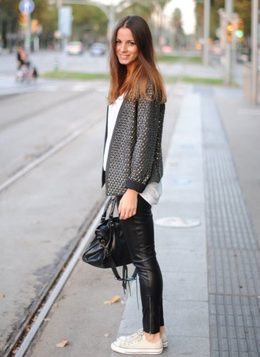 Pantaloni pelle 27