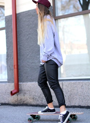 Pantaloni pelle 31
