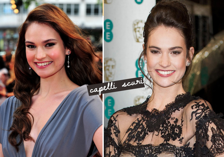 capelli-scuri-lily-james-cenerentola