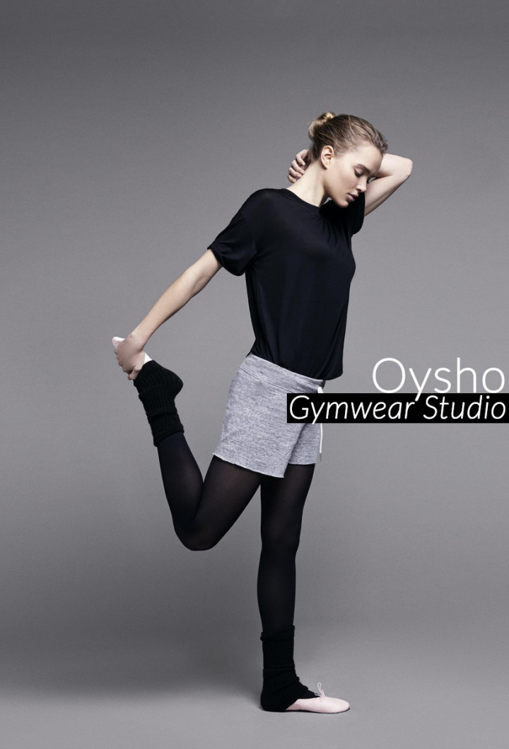 Oysho e la collezione gymwear ispirata alla danza