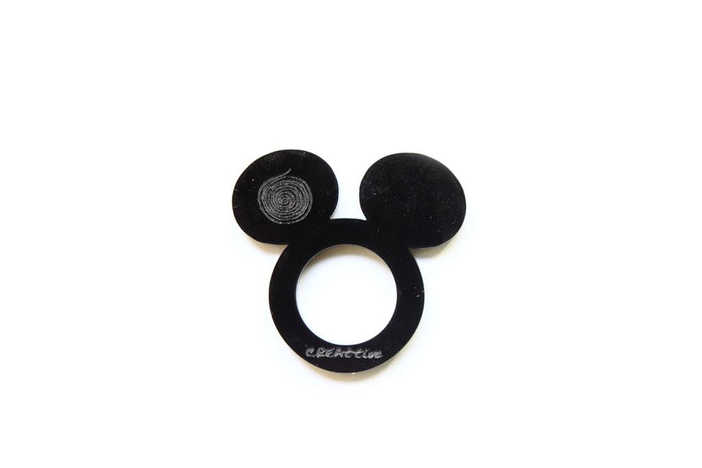 Anello Mickey Mouse creattiva