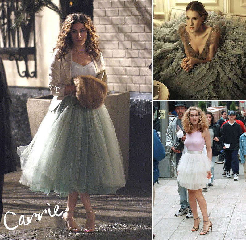 carrie gonna tulle