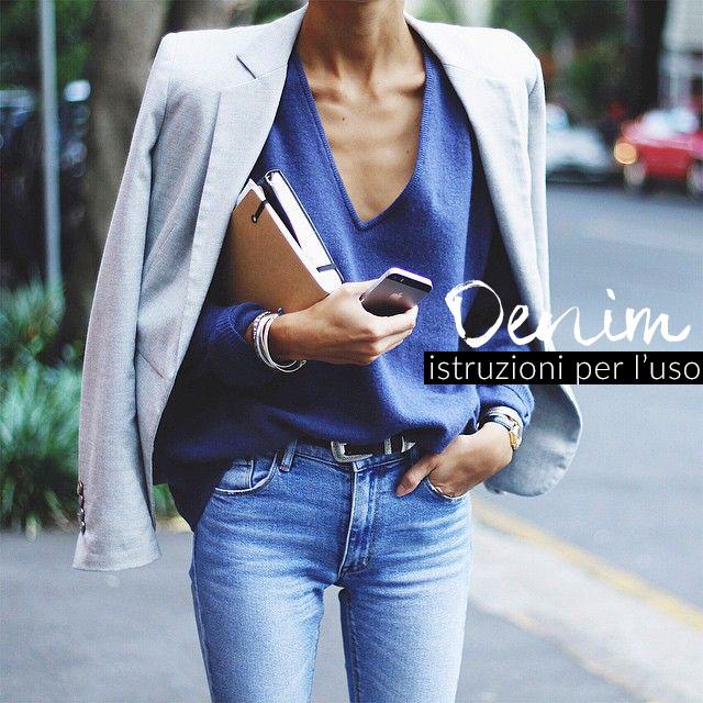 Denim e denim-on-denim: come indossarlo