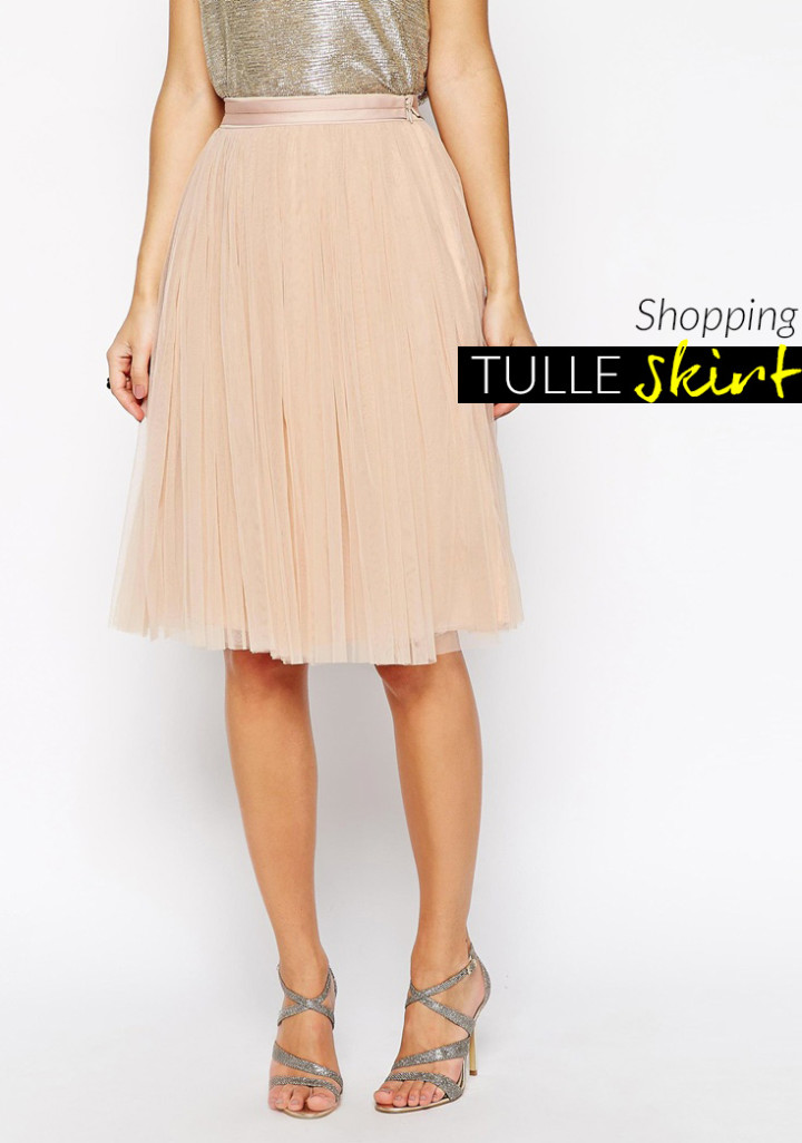 Gonna in tulle, 5 idee per lo shopping