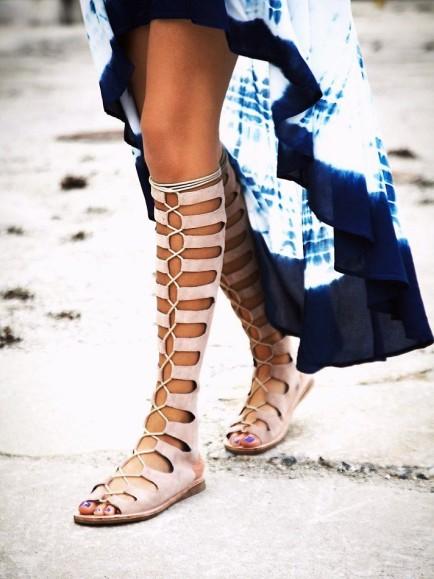 sandali gladiators, trend scarpe 2015