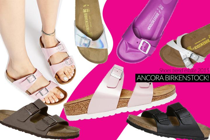 Birkenstock (ancora!) per l'estate 2015, ecco dove comprarle online