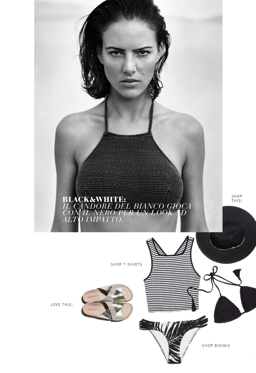 Vogue Beach, il beachwear secondo Oysho per l'estate 2015