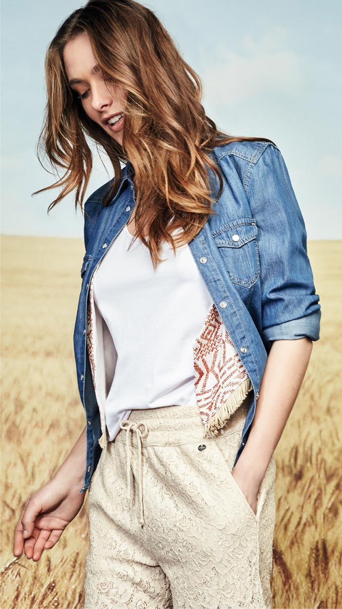 camicia jeans trend 2015