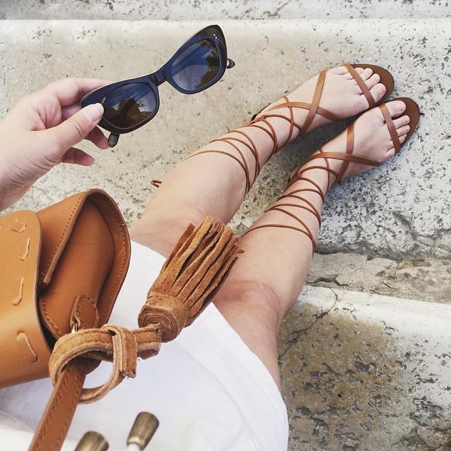sandali fashion blogger