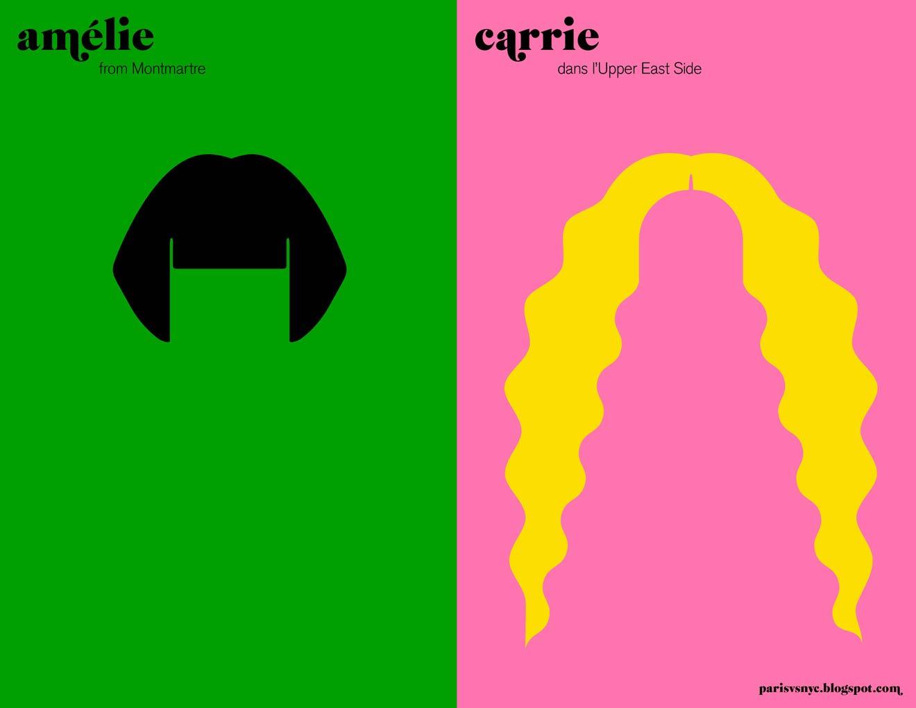 amelie carrie paris vs new york