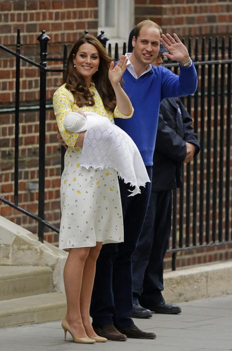Kate Royal Baby look